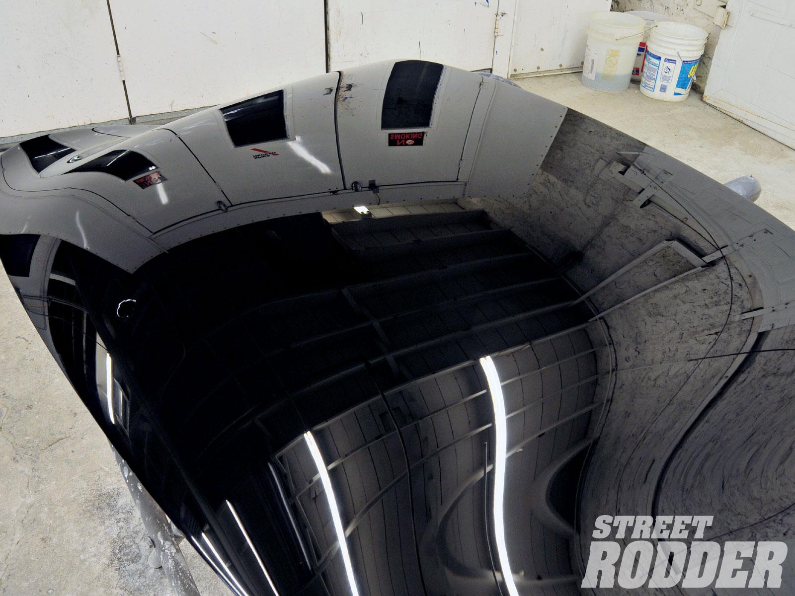 Black Car Paint Chip Repair